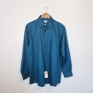 Van Heusen Lux Sateen Regular Fit button up shirt